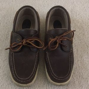 G. H. Bass classic brown boat shoe